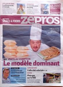 Zepros, métier Snack&Foods